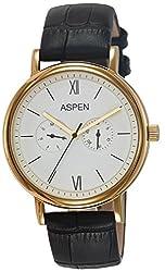 Aspen Analog White Dial Mens Watch - AM0077