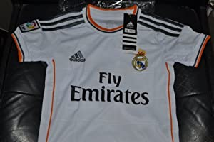 2013/2014 real madrid home football soccer kids jersey & short RONALDO 7 (L (8-9 years))