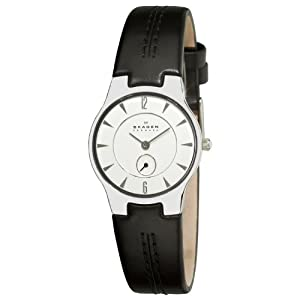 Skagen Women's 433SSLC Steel Silver Small Second Subdial Watch