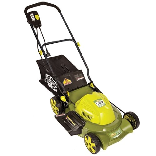 Sun Joe Mow Joe MJ407E 20-Inch Bag/Mulch/Side Discharge Electric Lawn Mower