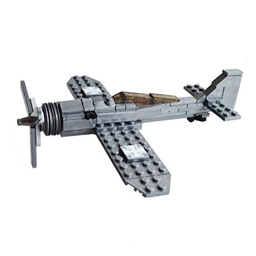 Kazi Building Block Century Military Fw190 Fighter Plane #82006 126pcs Compatible with Lego Sluban - 1