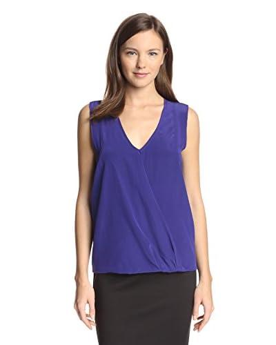 Nicole Miller Women's Sleeveless Silk Top