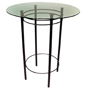 Check Price Trica Astro Dining Height Table With Glass