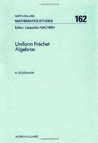 Uniform Frechet algebras