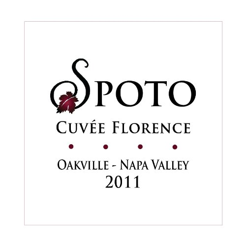 2011 Spoto Wine Cuvee Florence Napa Valley Bordeaux Red Blend 750 Ml