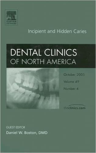 Incipient and Hidden Caries, An Issue of Dental Clinics (The Clinics: Dentistry) written by Daniel W. Boston DMD