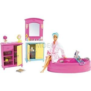 salle de bain de barbie jeux et jouets