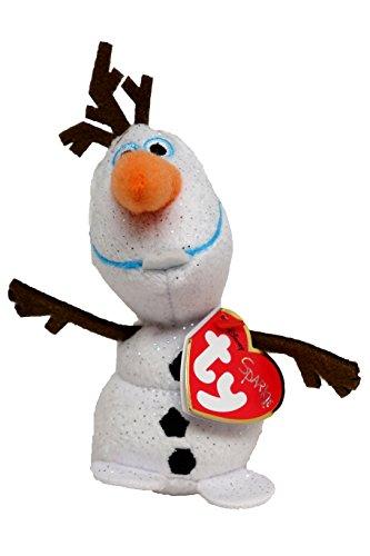 "Ty Beanie Babie Olaf clip 5"" - 1"