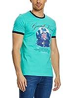 Galvanni Camiseta Manga Corta (Aguamarina)