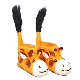 Children's Giraffe Slippers