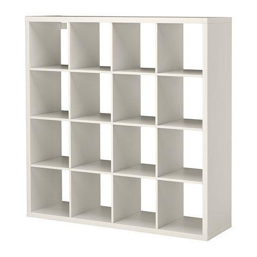 IKEA KALLAX シェルフユニット ホワイト 147×147cm 40275870