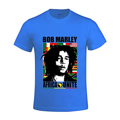 Bob-Marley-2-Men-Shirt-Round-Neck-Casual