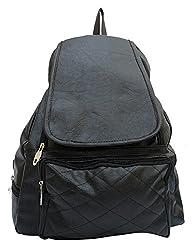 Vintage Stylish Ladies Expandable Backpacks Handbags Black(bag 145)
