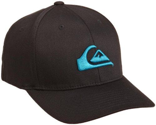 Quiksilver Men's Riot Flex Fit Hat, Blue, One Size