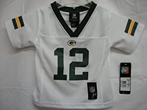 2012-2013 Season Aaron Rodgers Green Bay Packers White NFL Toddler Jersey
