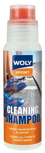 Woly Woly Sport Cleaning Shampoo Shoe Treatment And Polish Neutral 200 Milliliters (Beige\/Sand\/Tan)