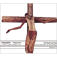 C.Spering(Cond.)/New Berlin Chamber Orchestra Mozart: Requiem (The Süssmayr Version and the Original Unfinished Version)のAmazonの商品頁を開く