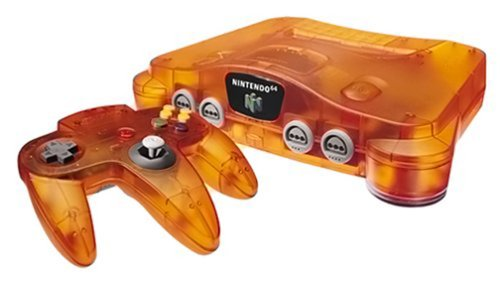 Nintendo 64 Console - Orange
