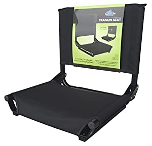 Lighter Weight CMT Stadium Seat with Aluminum Back from Cascade Mountain Tech