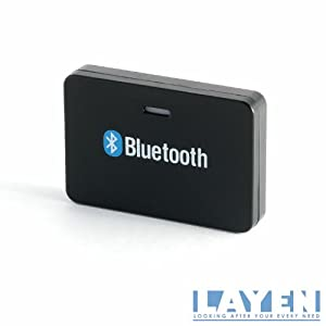 LAYEN - Bluetooth Audio Adaptor / Music Receiver For BOSE, Sony etc. Docking Stations - Create A Wireless System By Streaming Your Music (Requires No Separate Charge) Cheaper Smarter alternative to the Lightning Adapter