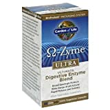 Garden of Life Omega-Zyme Ultra Ultimate Digestive Enzyme Blend, Capsules, 90-Count Bottle
