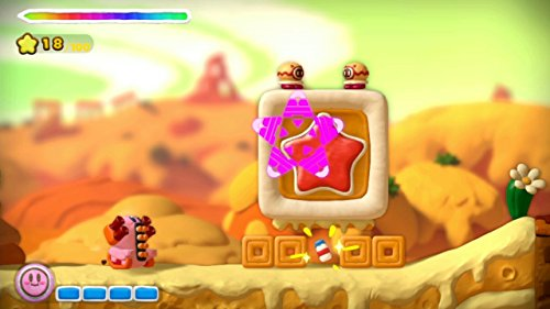 Kirby and the Rainbow Paintbrush  screenshot