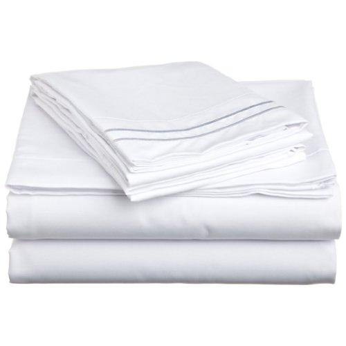 Js Sanders 1500 Series Sheet Set, Full Size, White front-285649