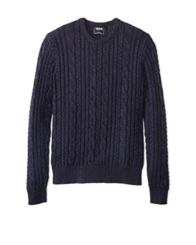 Todd Snyder Men's Cable Crew Sweater