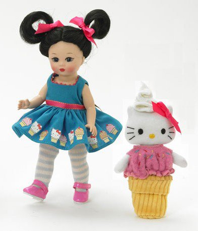 Madame Alexander 8 Inch Americana Collection Doll - Ice Cream Delight Hello Kitty - Buy Madame Alexander 8 Inch Americana Collection Doll - Ice Cream Delight Hello Kitty - Purchase Madame Alexander 8 Inch Americana Collection Doll - Ice Cream Delight Hello Kitty (Madame Alexander, Toys & Games,Categories,Dolls,Fashion Dolls)