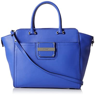 MILLY Colby Travel Tote,Blue,One Size