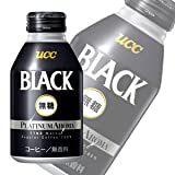 UCC BLACK無糖 プラチナアロマ 300gリキャップ缶×24本入