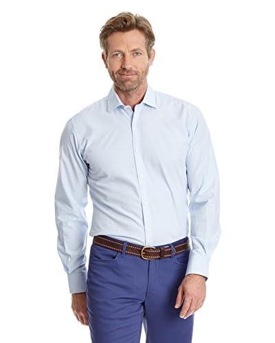 Cortefiel Camicia Uomo [Blu]