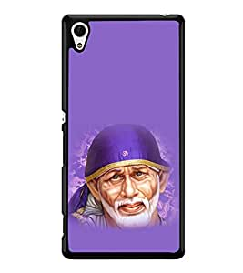 printtech Sri Sainath Sai Baba Back Case Cover for Sony Xperia Z3 Plus , Sony Xperia Z3+