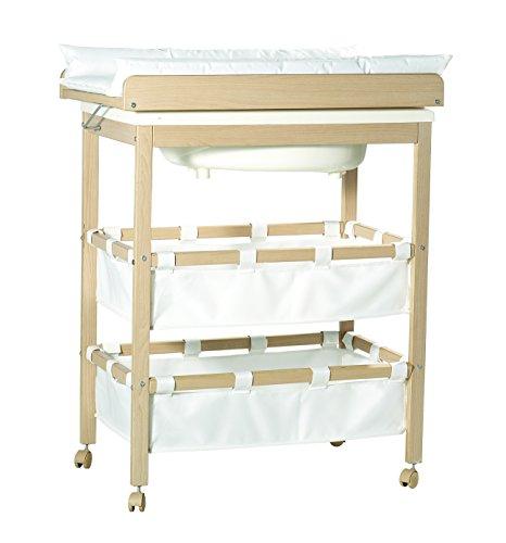 roba 1251 bade wickel kombi wickelauflage zur seite schwenkbar. Black Bedroom Furniture Sets. Home Design Ideas