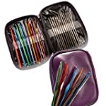 22 Multi-colour Aluminum Crochet Hook...