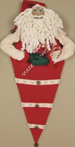Candy Santa Christmas Stocking, 26 Inch