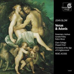 John Blow - Venus & Adonis / Joshua · Finley · Blaze · Jacobs
