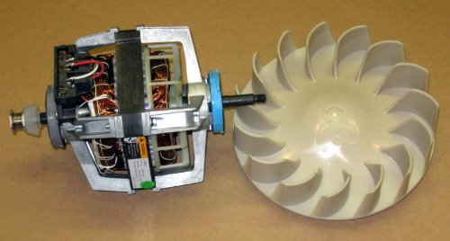 Dryer repair package motor 279827 and blower 694089 for for Dryer motor replacement cost