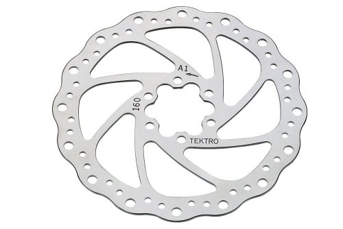 Buy Low Price Tektro 160mm Wavy Type Rotor w/ Bolts (RO-160-1)