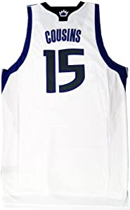 DeMarcus Cousins Usigned Swingman Sacramento Kings Jersey by Hollywood+Collectibles