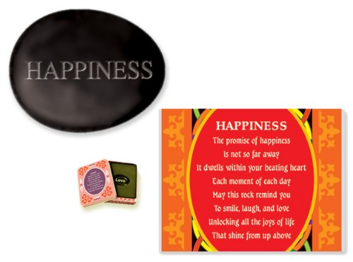 Stones of Sentiment with Tin Box, Happiness