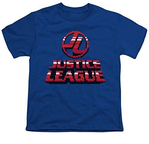 Justice League 8 Bit JL Youth T-Shirt