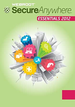 Webroot SecureAnywhere Essentials 2012 3PC [Download]