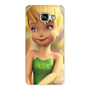 Delighted Tin Cure Girl Back Case Cover for Galaxy A3 2016
