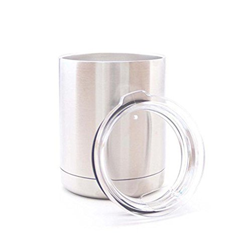 Bilayer Stainless Steel Insulation Cup 10 OZ Cups Without Yeti Logo Cars Beer Mug Large Capacity Mug Tumblerful 1Pcs.