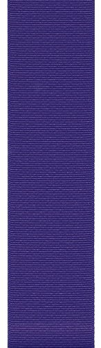 Offray Grosgrain Craft Ribbon, 3-Inch Wide by 50-Yard Spool, Regal Purple