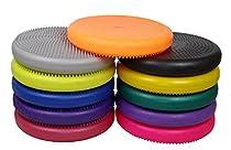 "Isokinetics Inc. Brand Exercise Disc / Balance Cushion - 14"" Diameter - Blue"