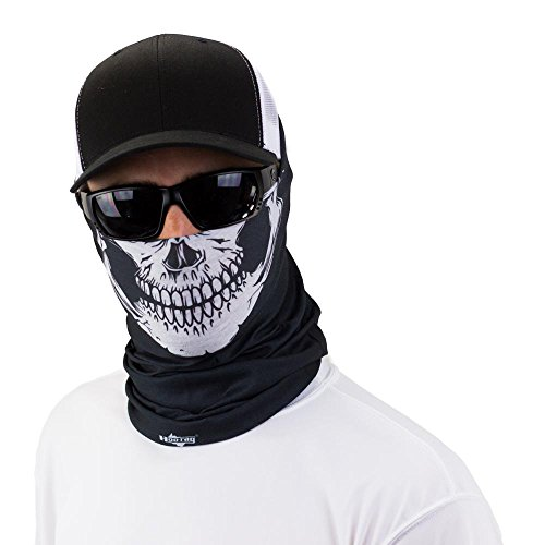 Skull Tubular Bandana With Skeleton Design