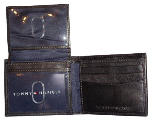 Tommy Hilfiger Black Leather Logo Wallet