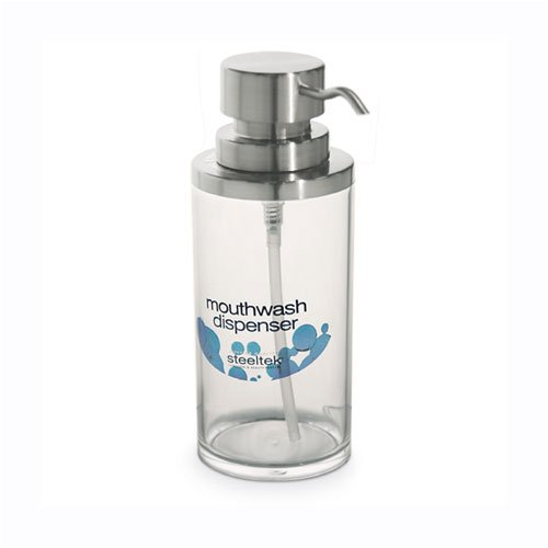 Steeltek Sitlax Mouthwash Container